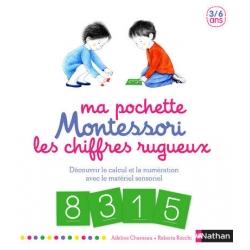 Montessori Ma pochette de chiffres rugueux