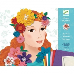 Kirigami Jeunes filles en fleurs