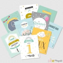 Kit cartes Ma première année
