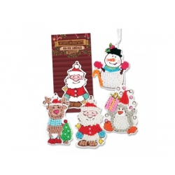 Figurine de Noël à décorer