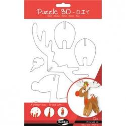 Puzzle 3D Renne