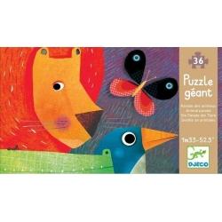 Puzzle La parade des animaux 36 pièces
