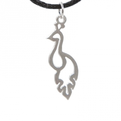 Bijoux Sterling silver Collier paon