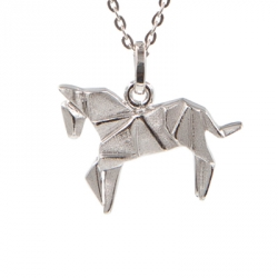 Bijoux Origami Collier Cheval