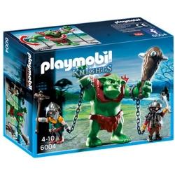 Playmobil - Soldats nain avec troll