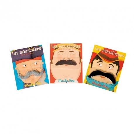 Moustache de Monsieur Georges le canotier