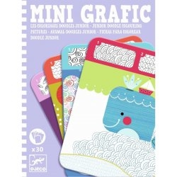 Mini grafic - Coloriages doodles junior