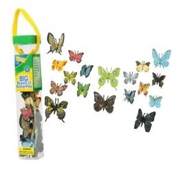 Papillons en tube