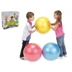 Play and beach ball