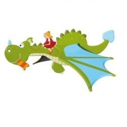 Mobile dragon Vert enfants