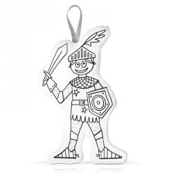 chevalier à colorier