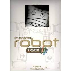 robot a colorier