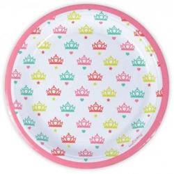 Assiettes princesse 23 cm 8 pièces
