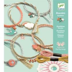 Bracelets kumihimo Céleste