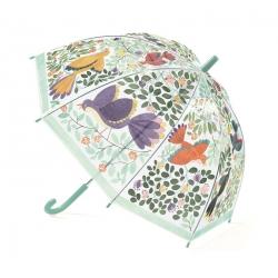 Parapluie Fleurs et oiseaux