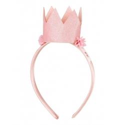 Serre-tête courone rose Tiara Mignon