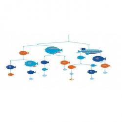 Mobile papier - Des poissons en harmonie