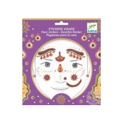 Tatouage - Stickers visage Princesse India