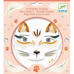 Tatouage - Stickers visage Chat