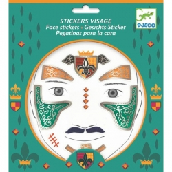 Tatouage - Stickers visage Chevalier