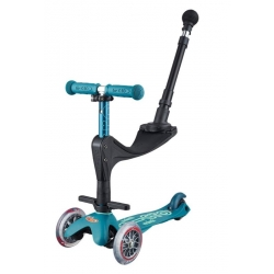 Trottinette Micro 3 en 1 deluxe Plus Ice Blue