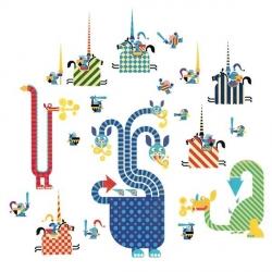Stickers muraux - Dragones