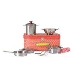 Set de casseroles en métal