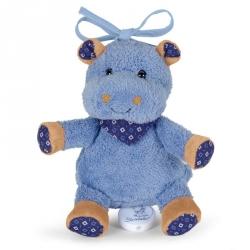 Mini peluche musicale Norbert l'hippo
