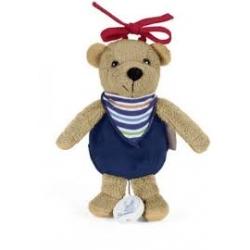 Mini peluche musicale Ben l'ours brun