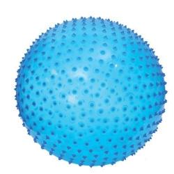 ballon de motricite bleu 45 cm