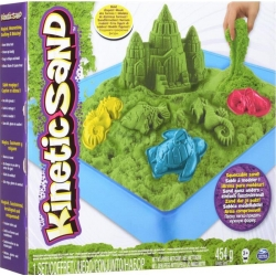 Kinetic Sand Sandcastle vert 454 gr
