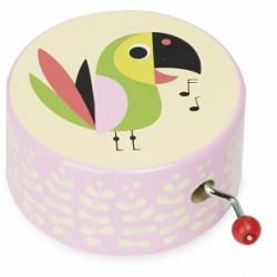 Boîte à musique Ingela - Perroquet