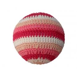 Hochet Balle rose