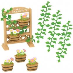 Set de décoration florale et jardinières