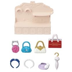 Sylvanian Families - Présentoir et accessoires de maroquinerie