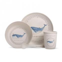 Vaisselle bambou baleine