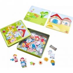 Boîte de jeu magnétique la ferme de Pierre et Pauline