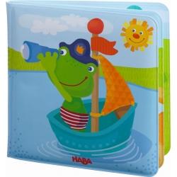 Livre de bain - Capitaine grenouille
