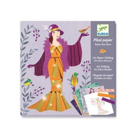 Plissé Papier Robes Art Déco Lolifant