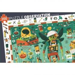 Puzzle observation - Crazy Lab 200 pièces