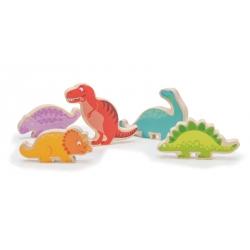 Dinosaure en bois