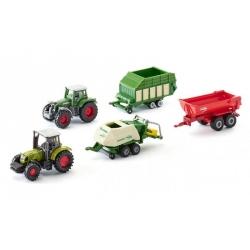 Siku set tracteurs