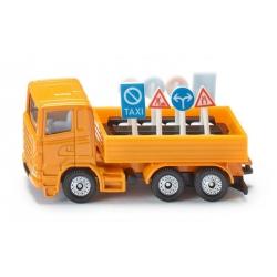 Siku J Camion de signalisation routière