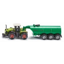 Siku O Tracteur avec remorque