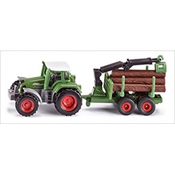 Siku O Tracteur  avec remorque 2 essieux