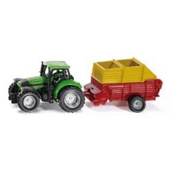 Siku O Tracteur avec chariot Pottinger