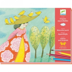 Crayon aquarellables - Échapées belles