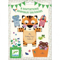 Invitations - Animaux sauvages