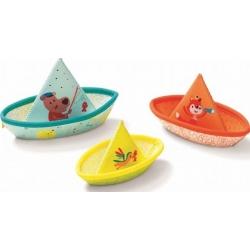 Trois bateaux plaisir de bain
