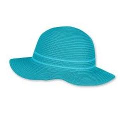 Chapeau de paille Turquoise 49